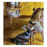 Degas: Ballet Class  C1878