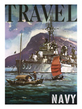 US Navy Travel Poster