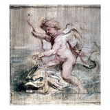 Rubens: Cupid On Dolphin