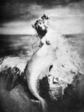 Nude As Mermaid  1898