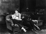 Silent Film Still: Fainting