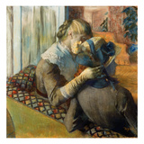 Degas: At Milliner's  1885