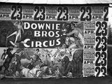 Circus Advertisement  1936