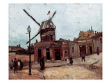 Van Gogh: La Moulin  1886