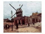 Van Gogh: La Moulin  1886