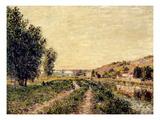 Sisley: Landscape  1884