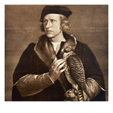 Holbein: Falconer  1533
