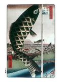 Hiroshige: Kites  1857