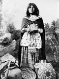 Apache Woman  C1908