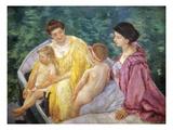 Cassatt: The Swim  1910