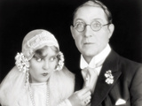 Silent Film Still: Wedding