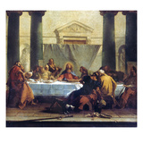 GB Tiepolo: Last Supper