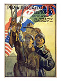 World War I: Italian Poster