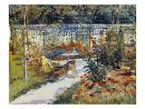 Manet: Garden  1881
