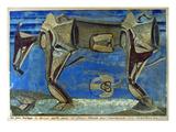 Max Ernst: Malade  1920