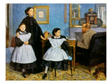 Degas: Family  1858-60