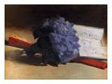 Manet: Violets  1872