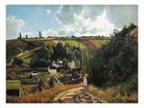 Pissarro: Jallais  1867