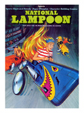 National Lampoon  November 1973 - Sports  Soap Box Derby Crash and Burns