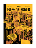 The New Yorker Cover - January 31  2011