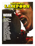National Lampoon  November 1975 - Work