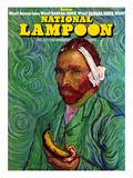 National Lampoon  October 1973 - Banana Issue  Von Gogh's Ear
