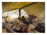 Sorolla: La Comida  1898