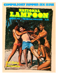 National Lampoon  August 1976 - Compulsory Summer Sex Issue