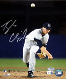 Tyler Clippard Yankees Pitching Vertical Front View (MLB Auth)