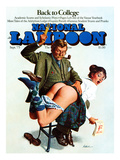 National Lampoon  September 1975 - back to College: Naughty Professor or Naughty Student