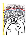 The New Yorker Cover - August 22  1964