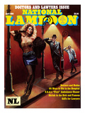 National Lampoon  April 1986 - Doctors and Lawyers Issue