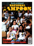 National Lampoon, October 1990 - Back to School Reproduction d'art