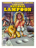 National Lampoon  August 1986 - Show Biz Issue