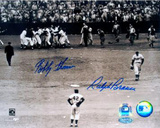 Ralph Branca / Bobby Thomson with Jackie Robinson Vertical