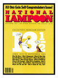 National Lampoon  June 1983 - All-Star Gala Self-Congratulatory Issue!