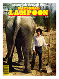 National Lampoon  June 1977 - I got my job through the…