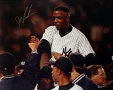 Doc Gooden Yankee No Hitter Carry Off Autographed Photo (Hand Signed Collectable)