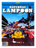 National Lampoon  April 1981 - Chaos: Race Crash for Ducks in a Row
