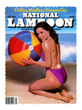 National Lampoon  July 1981 - Endless  Mindless Summer Sex with a Beach Babe on the Cover
