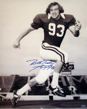 "Marty Lyons Alabama Portrait w/""Roll Tide"" Insc Autographed Photo (Hand Signed Collectable)"
