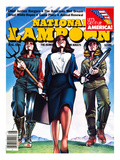 National Lampoon  August 1981 - The American Wet Dream: Women with Power
