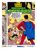 National Lampoon  October 1976 - The Funny Pages: Superman