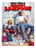 National Lampoon  August 1977 - Cheap Thrills