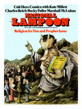 National Lampoon  June 1971 - Religion for Fun and Prophet Issue