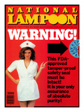 National Lampoon  March 1983 - FDA Warning