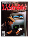 National Lampoon  May 1982 - Crime: Robbing The ATM