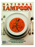National Lampoon  March 1982 - Food Issue