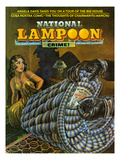 National Lampoon  February 1972 - Crime! Don Not Remove Under Penalty of Law