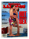 National Lampoon  July 1986 - Hot Summer Sex  So Hot They're Malting